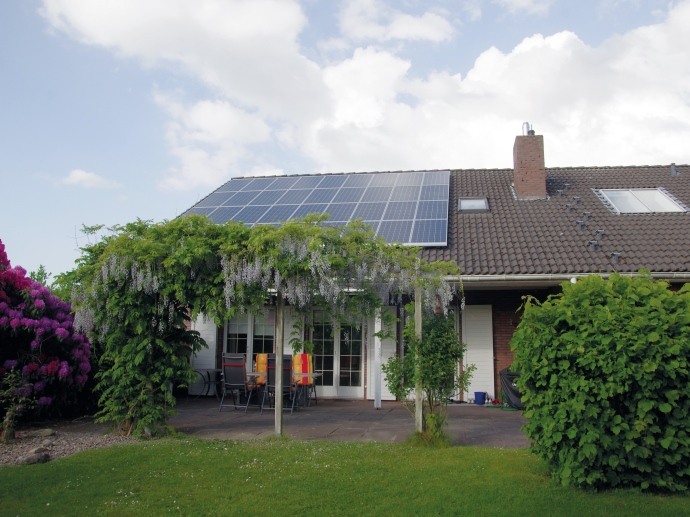 Wärmepumpe mit Photovoltaik-Stromspeicher